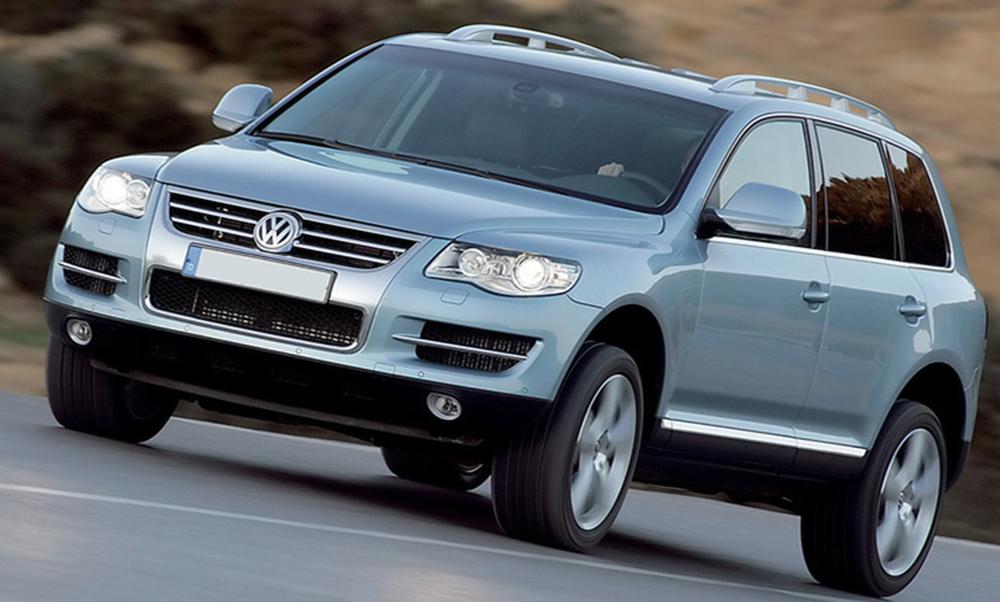 Barre de toit longitudinales Volkswagen-Touareg