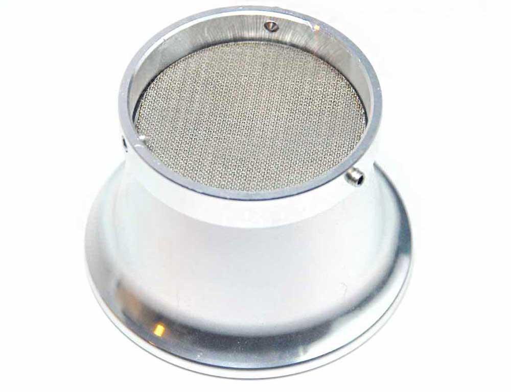 cornet aluminium avec filtre pour carburateur vintage 48mm 55mm. Black Bedroom Furniture Sets. Home Design Ideas