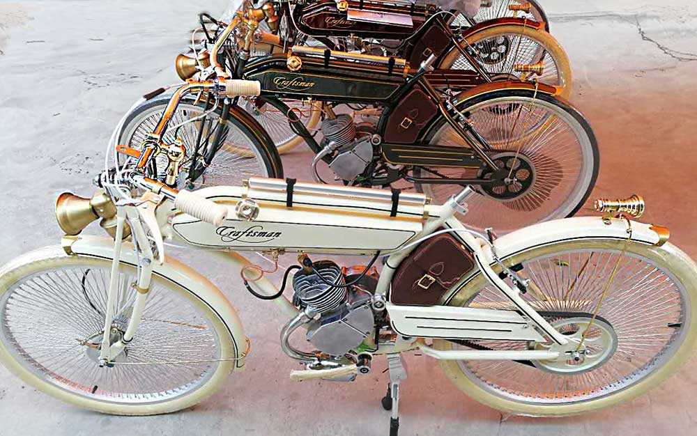 Motocyclette Craftsman Motorcycle groupe