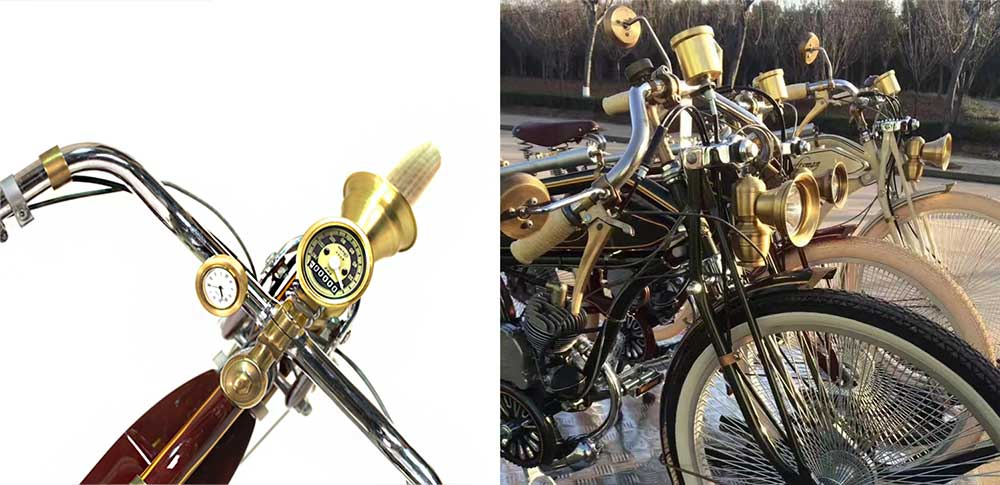 Craftsman Motorcycle presentation compteur