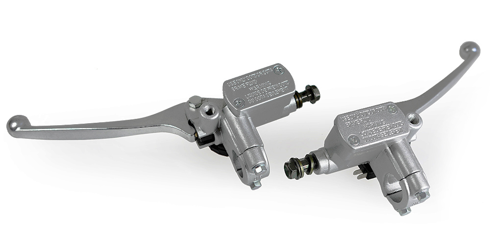 Levier avec maître-cylindre poignée de frein gauche ou d'embrayage hydraulique pour guidon diamètre 22mm