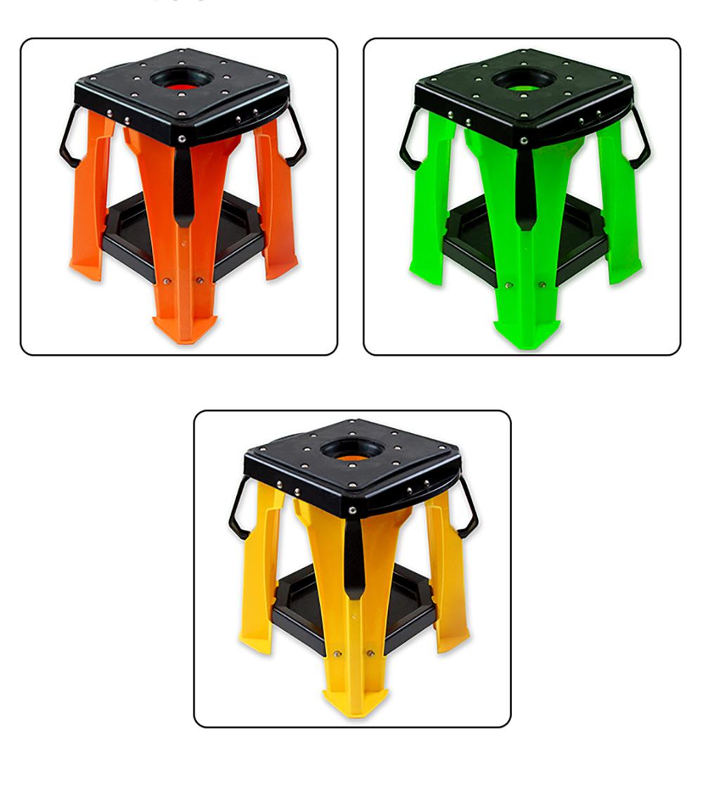 Support moto cross en plastique ABS incassable et léger - sept couleurs au choix 2