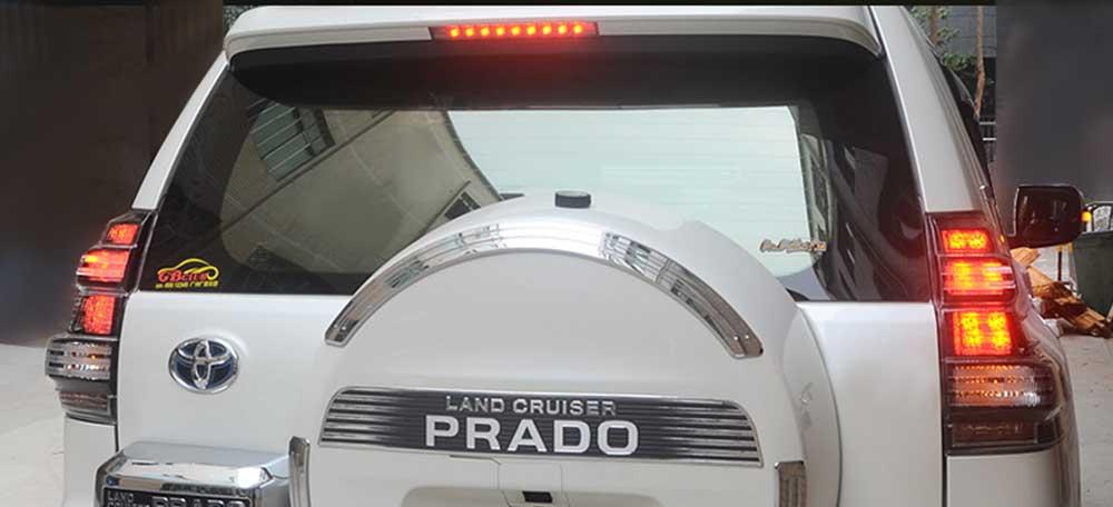 Feux arriere toyota land cruiser KDJ cristal blanc