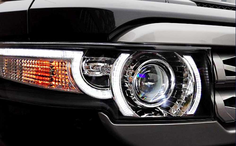 Phare FJ Cruiser LED avec calandre 3