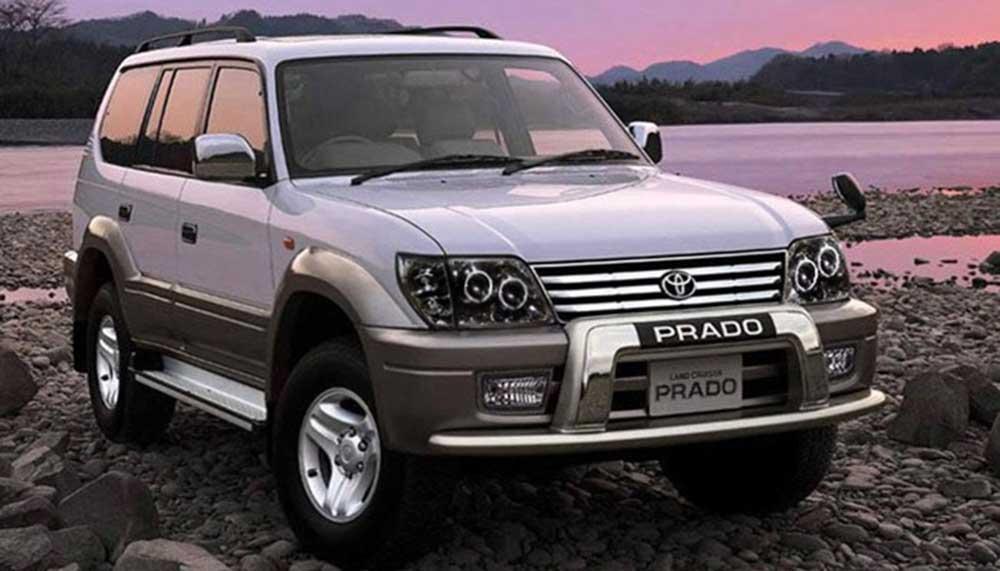 Toyota Land Cruiser coque de retroviseur chrome noir