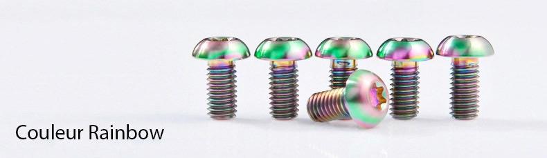 Vis-titane-TORX-M5-couleur-Arcenciel-Rainbow