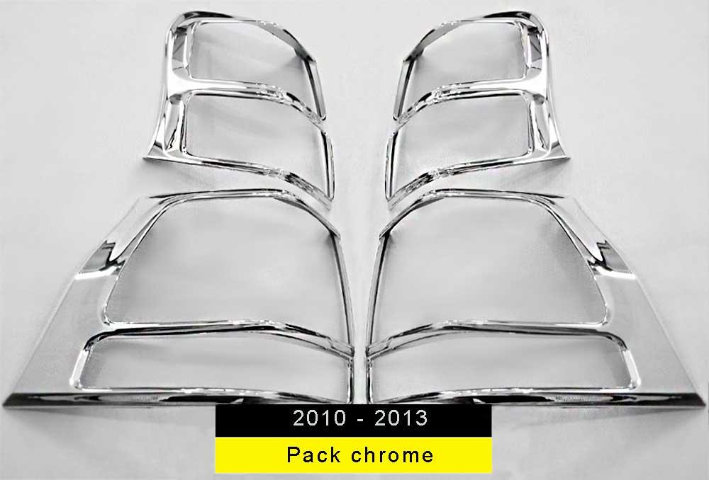 Pack feur arrière chrome prado 2010-2013